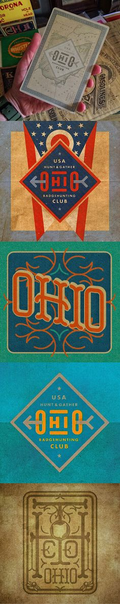 Ohio Badge & Type Hunting by The Type Hunter, a fellow Ohioan