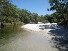 River that supplies the community Kalunga
