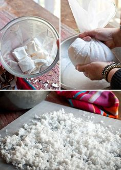 Coconut Rawmazing: How to make coconut milk and coconut flour from raw coconuts #food #paleo #coconut