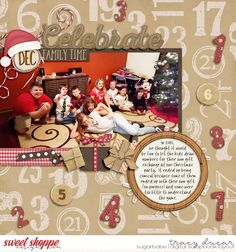 available at www.sweetshoppedesigns.com Celebrate December by wendyp designs and juno designs