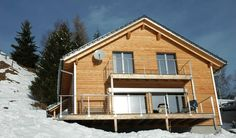 """Modernes Ferienchalet """"Casa Montana"""" in Davos Munts, Val Lumnezia, Graubünden, Schweiz"""