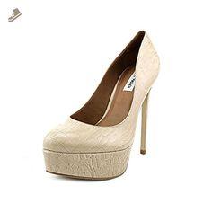 Steve Madden Denisee Women US 10 Nude Platform Heel - Steve madden pumps for women (*Amazon Partner-Link)