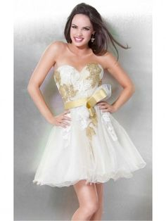 Vestido tubo escote corazón decente color blanco vestido