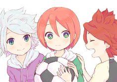 Fuusuke, Tatsuya and Haruya
