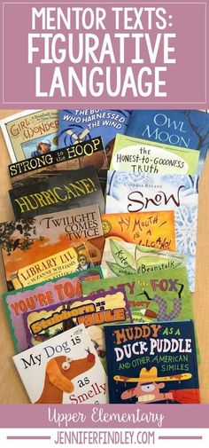 Read Alouds for Teaching Figurative Language | Mentor Texts for Reading - Teaching with Jennifer Findley