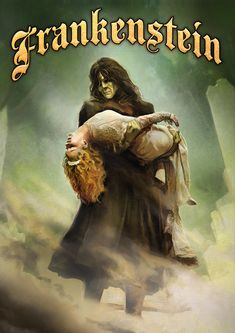 Theatre poster of the week, Frankenstein.