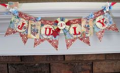 Lori Hairston: Red, White & Blue for Craft Us Crazy
