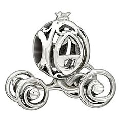 You shall go to the ball with this delightful Cinderella coach bead, crafted in shining sterling silver. Discover all the ways to express yourself with one of a kind jewellery that reflects your life and experience. Inspired by your personal sense of style, Chamilia jewellery is as unique as you are.