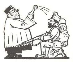 Illustriett von Josef Lada - 1961 Des Braven  Soldaten  Schwejk Slovak Language, First Novel, World War One, E Design, Languages, Fairy Tales, Cartoon, Drawings, Illustration