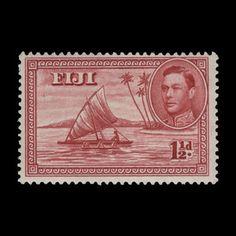 Fiji 1942 (Unused) 1½d Camakua