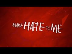 Citizen Soldier - Make Hate To Me (Official Lyric Video) - YouTube My Favorite Music, Hush Hush, Citizen, Addiction, Hate, Lyrics, Neon Signs, Relationship, Songs