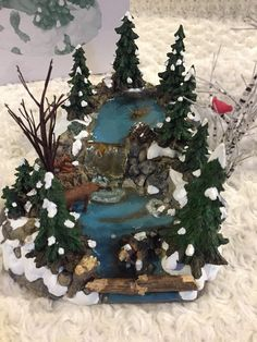 Department 56 Snow Village Accessories for sale Indoor Christmas Decorations, Outdoor Christmas, Holiday Decor, Christmas Ribbon, Christmas Tree, Christmas Ornaments, White Christmas, Christmas Houses, Christmas Gifts