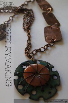 Copper enameling   DiaryofaCreativeFanatic