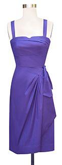 Trashy Diva Trixie Sarong Dress - SALE txsarong-purplepoplin