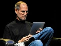 Steve Jobs - I admire his business sense and vision.