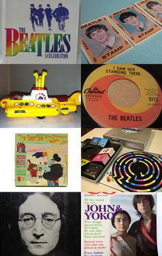 Twist and Shout, an epsteam treasury  of vintage Beatles memorabilia for sale on etsy. Curated by Betsy Durham of zibbles110. Pinned with TreasuryPin.com