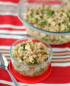 Spinach and Quinoa Salad - Our Share of the Harvest