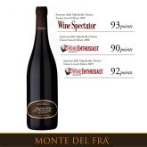 Amarone Monte del Frà on WIne Spectator and Wine Enthusiast #amarone #valpolicella #montedelfra #awards #winespectator #wineenthusiast