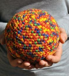 Puntxet  PELOTA PARA BEBÉS  crochet  ganchillo  niños 6d1443817d5