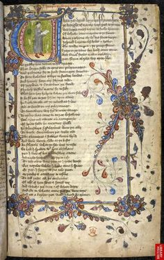 Geoffrey Chaucer, The Canterbury Tales ~ British Library