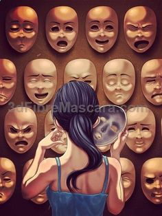 Art Drawings Deep Meaning Ideas For 2019 Art And Illustration, Drawing Faces, Art Drawings, Mask Drawing, Drawing Art, Pencil Drawings, Satirical Illustrations, Satirical Cartoons, Deep Art
