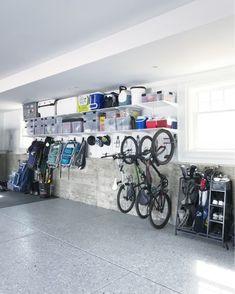 storage organization garage workshop solve problems without problems Garage House, Garage Shed, Garage Workshop, Dream Garage, Garage Doors, Garage Organization Tips, Garage Storage Solutions, Diy Garage Storage, Garage Shelving