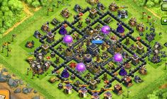 Best Base Against Hogs Clan Games, Clash Of Clans Game, Gaming, Base, City, Videogames, Cities, Game