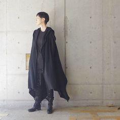 AW17 Unisex style . Gillet: #nudemm Trouser: #nudemm . . #aw17 #17aw #monotone #black #allblack #noir #coordinate #fashion #fashionpost #styles #outfit #outfits #ootd #minimal #instamood #style #moda #instafashion #minimalmood #mode #modefashion #outfitoftheday #styleoftheday #fashionstyle #时装 #패션 #morafukuoka #lookofthedaymora_fukuoka
