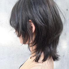 マッシュウルフ 本日もご来店ありがとうございました Mullet Hairstyle, My Hairstyle, Girl Hairstyles, Cut My Hair, Her Hair, Hair Cuts, Hair Inspo, Hair Inspiration, Medium Shag Haircuts