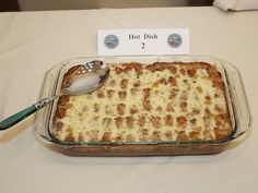 "Amy Klobuchar cooked up one delicious Tator Tot casserole and won the Minnesota Congressional Delegation's 1st ""Hot Dish Off."""