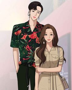 The secret of angel true beauty Cute Couple Art, Anime Love Couple, Anime Couples, Cute Couples, Handsome Anime Guys, Webtoon Comics, Animes Wallpapers, Anime Art Girl, Aesthetic Anime
