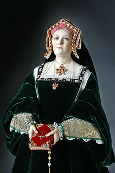 Catherine of Aragon was the first wife of Henry VIII and consort. Six pregnancies produced only one surviving child, Princess Mary (later Queen Mary I). She was the heir presumptive, at a time when there was no precedent for a woman on the throne. The Pope refused to allow the annulment of Henry's marriage to Catherine. The refusal set off a chain reaction that led Henry to break with the Roman Catholic Church, the establishment of an independent Church in England and his marriage to Anne…