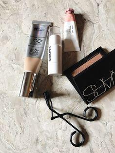 The Makeup I Actually Wore on Vacation Makeup Blog, Makeup Dupes, Skin Makeup, Makeup Inspo, Beauty Makeup, Makeup Kit, Huda Beauty, Makeup Ideas, Beauty Tips