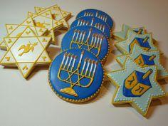 Hannukah Cookies (Cookievonster)