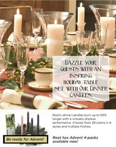 Add some sparkle to your dinner table this Thanksgiving!