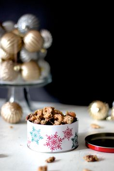 Sugar and Spice Candied Nuts | A Nerd Cooks