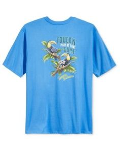 Tommy Bahama Men's Toucan Play At That Game T-Shirt - Blue S
