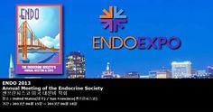 ENDO 2013 Annual Meeting of the Endocrine Society 샌프란시스코 미국 내분비 학회