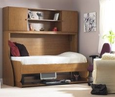 single bed with work space when needed.. or desk with spare bed..   of some use somewhere.