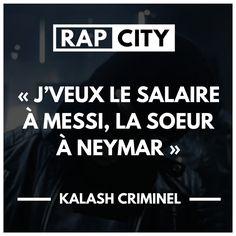 #punchline #kalash #criminel #kalashcriminel #rap #rapfrancais Clash Rap, Punchline Rap, Kalash, Rap City, Phrases, Album, Graphics, Citation Vie, Graphic Design