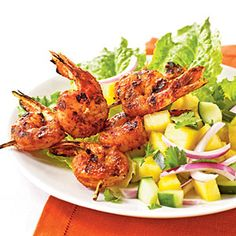 Jerk-Spiced Shrimp | MyRecipes.com