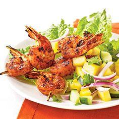 Jerk-Spiced Shrimp | MyRecipes.com