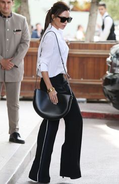 Victoria Beckham Proves This Major Runway Trend Works in Real Life via @WhoWhatWear