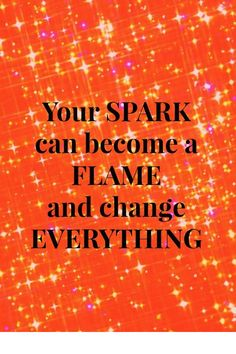 The spark that fires up your muscles and creates strength and changes the entire way you look!