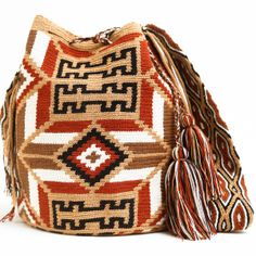WAYUU TRIBE | #Handmade Bohemian Bags made by the indigenous Wayuu Tribe in Colombia!