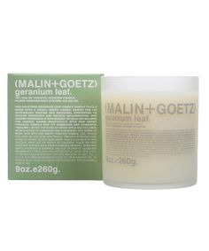 Malin and Goetz , Geanium Leaf, so earthy