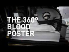 Hemope - The 360º Blood Poster