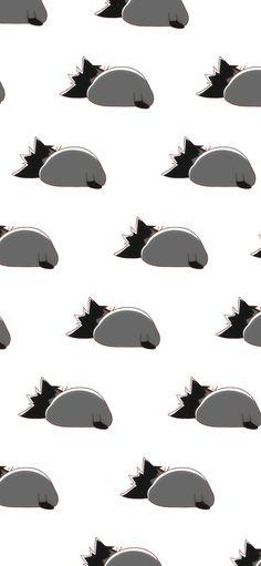 Kuroo Tetsurou, Kenma, Homescreen Wallpaper, Iphone Wallpaper, Phone Wallpapers Tumblr, Haikyuu Wallpaper, Iphone 10, Lock Screen Wallpaper, Aesthetic Anime