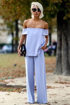 Style on the street at Paris fashion week | http://www.theglampepper.com/2014/10/02/style-on-the-street-at-paris-fashion-week/