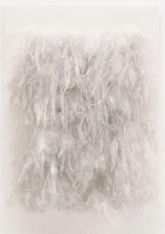 Piero Manzoni | Achrome, 1962 | Fiberglass on velvet covered wood
